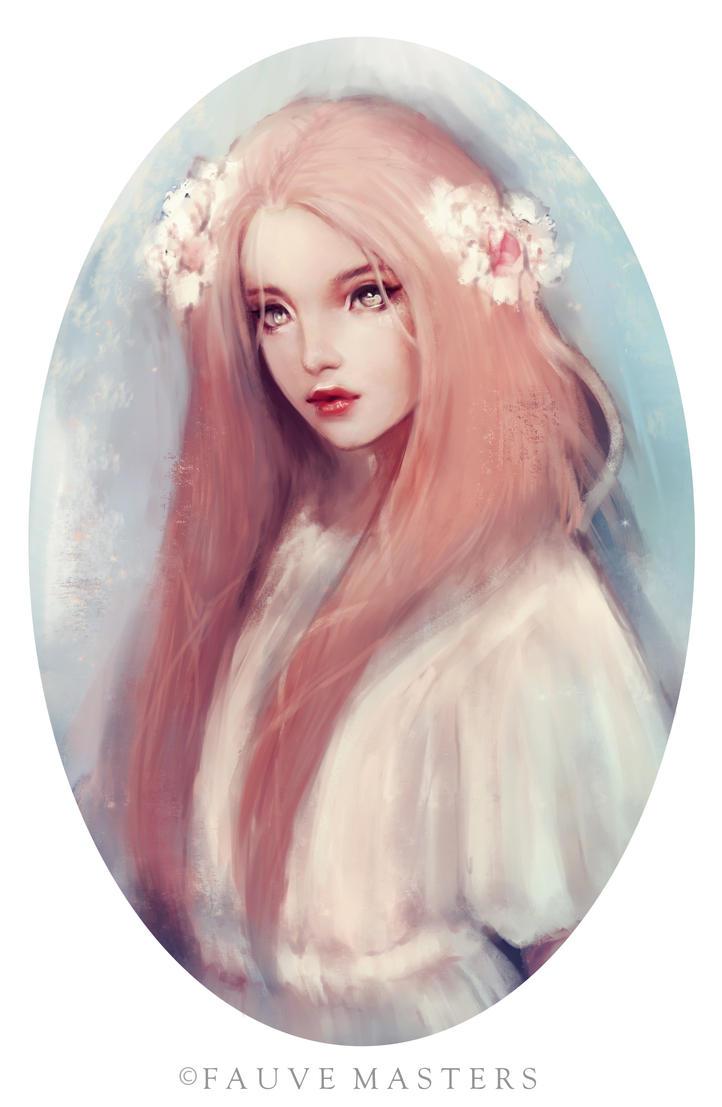Flower Girl by lafaun