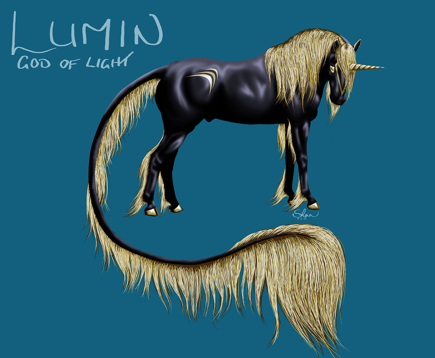 Lumin Ref and WIP by FallenShandeh