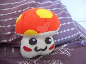 Maplestory Orange Mushroom plush