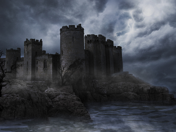 haunted_castle_by_iycreative d5hnj9s