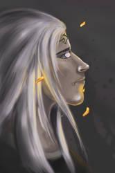 neji - pastel by SilverSalient