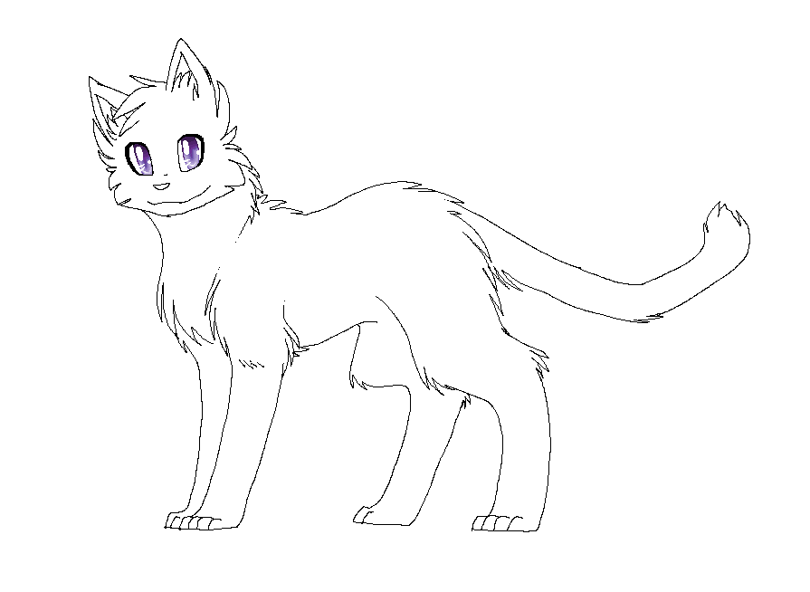 Warrior Cats Book Cover Template ~ Warrior cat lineart favourites by darkeh on deviantart