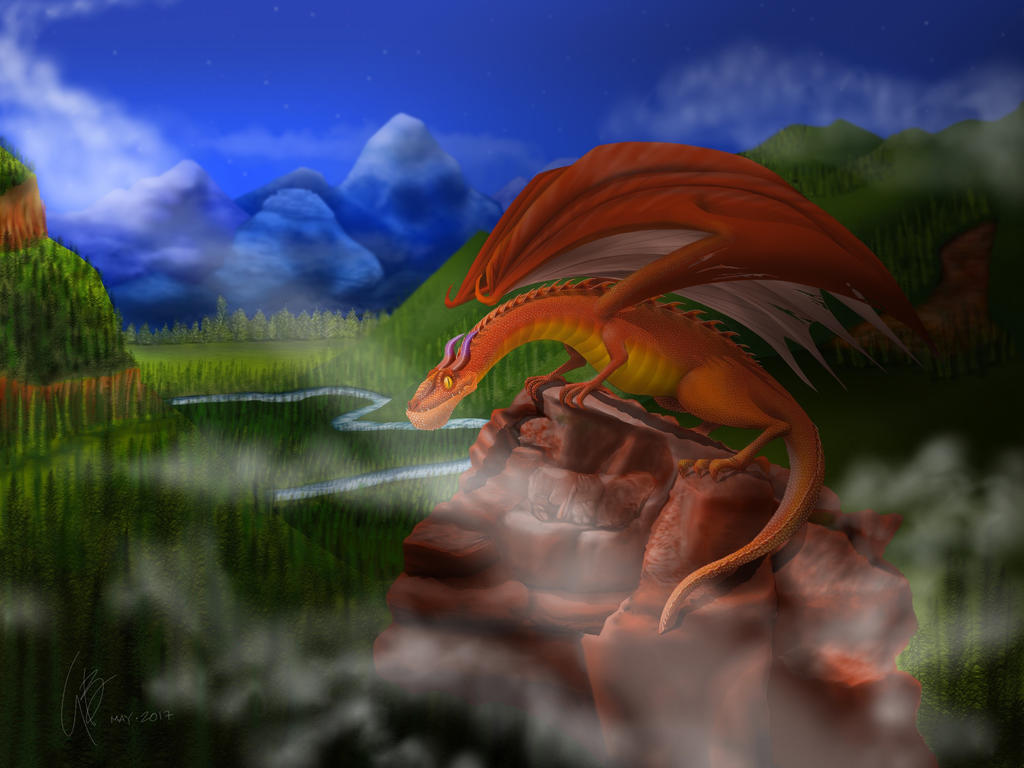 Red Dragon by gusvader