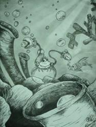 Imaginary Ink by gigglefitt25