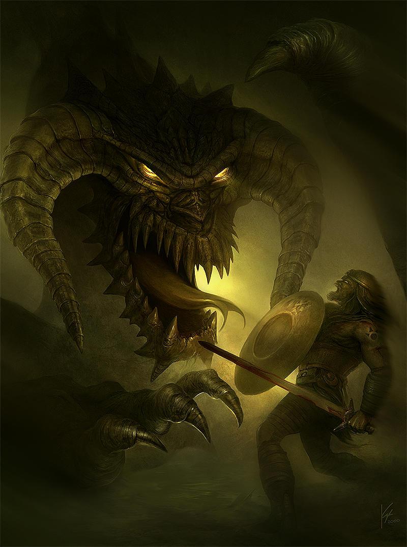 black dragon by Geistig