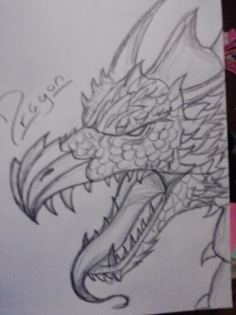 Dragon Design by AdamCareless