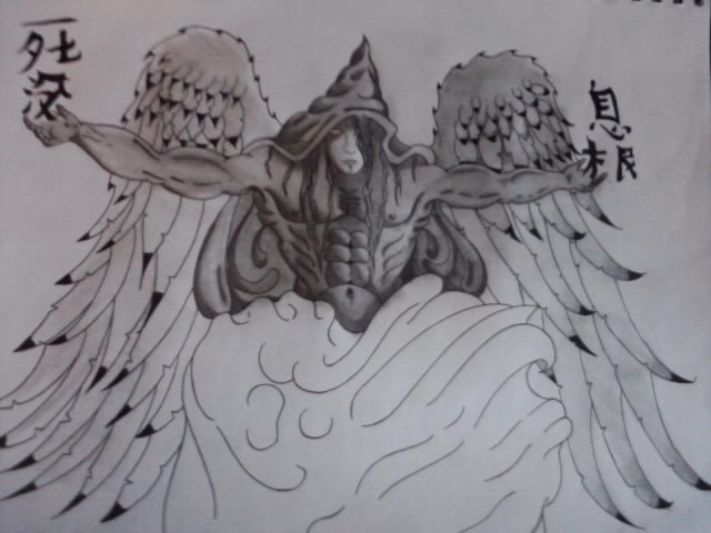 The Start of Angel piece by AdamCareless