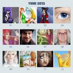 2013 by ynne-black