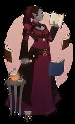 Alchemy (commission) by ynne-black