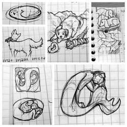 Uni sketches