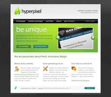 Hyperpixel Website Design