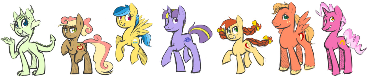NEW}My Little ponies: The Sky is the Limit {Open to all