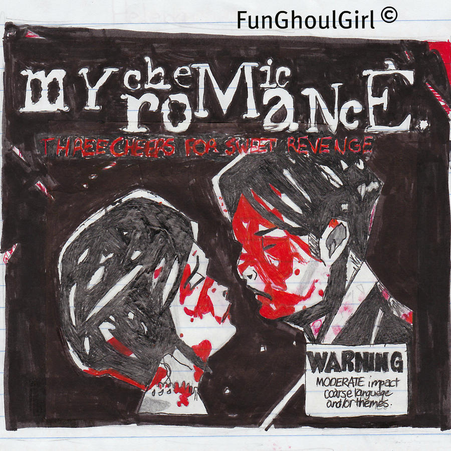 three Cheers For Sweet Revenge Album Cover by FunGhoulGirl ...