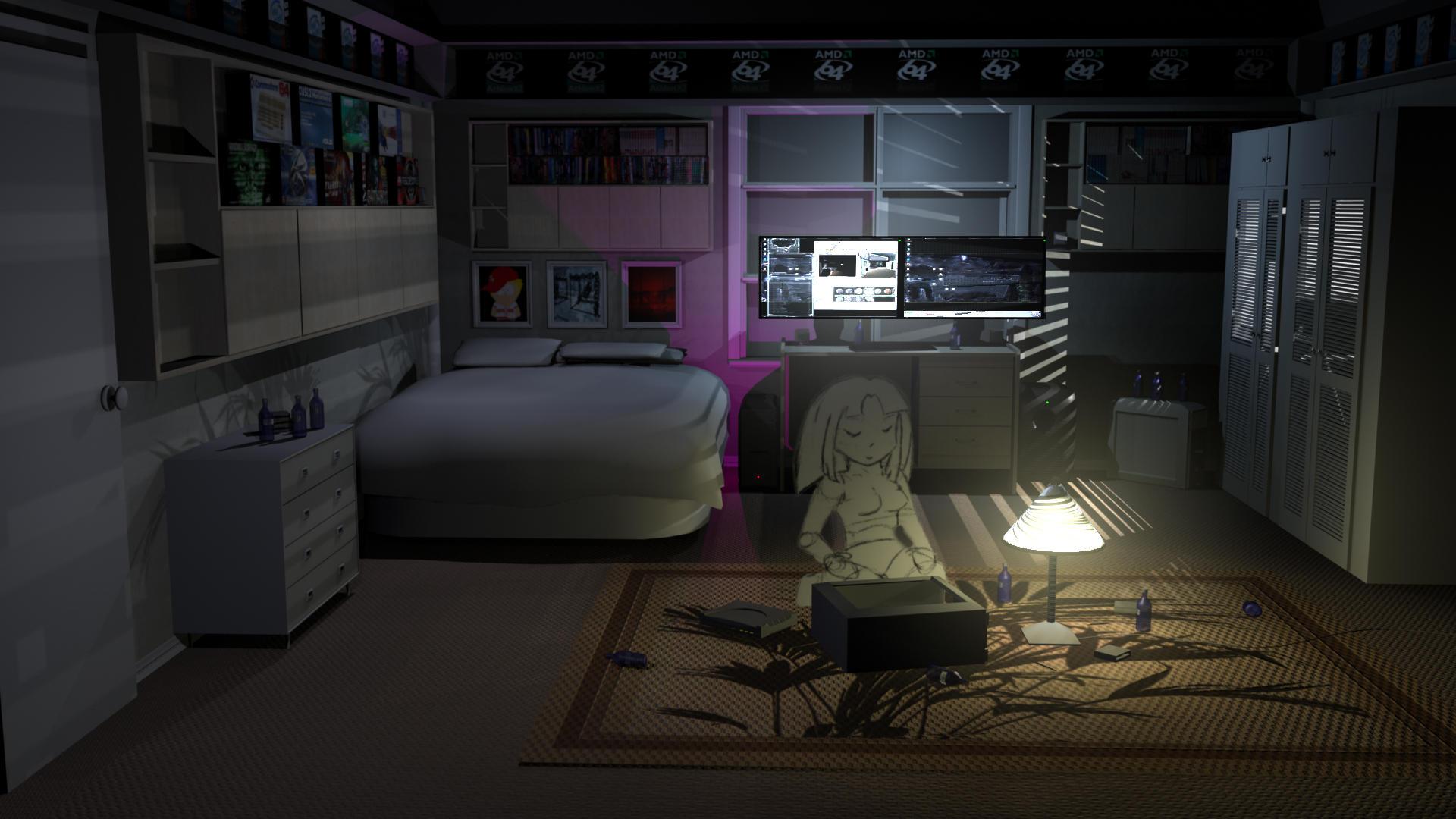 Gamer Home Decor Nerd Girl Room By Masterlatvia On Deviantart