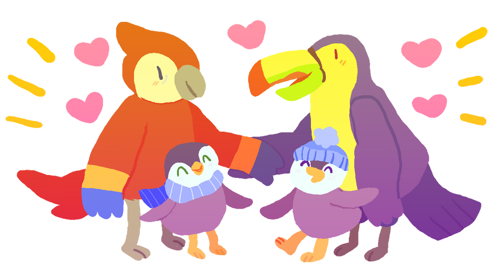 A Family Can Be 2 Baby Penguins And Their Gay Dads By -5917