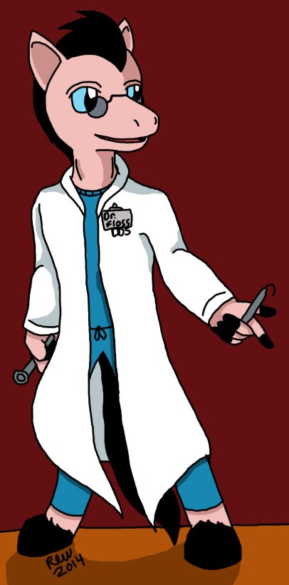 Doctor Floss by elijahtrevelyan