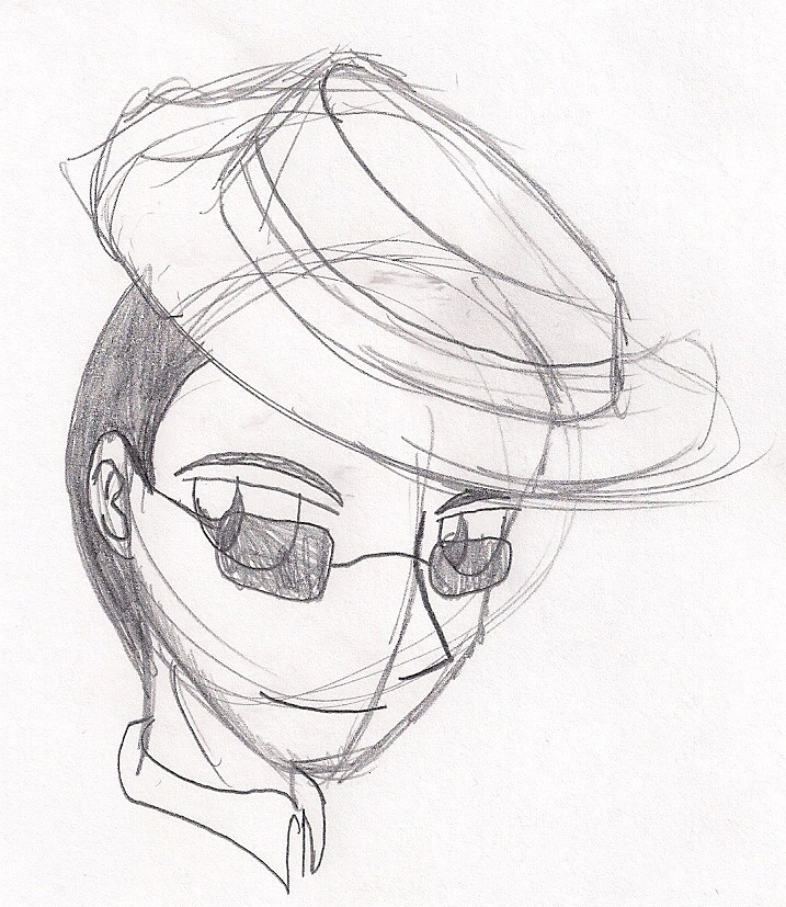 TF2 Sniper Headshot Sketch by shinigamimaxwell