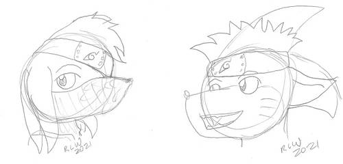 Narutober Day 9 and 10 - Naruto Sonicfied