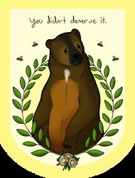 The Atlas Bear by KingofthePaleo