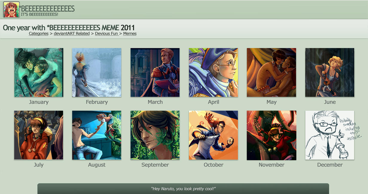 2011 art meme by painted-bees
