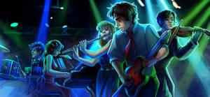 Illustration commission for NeroLink!