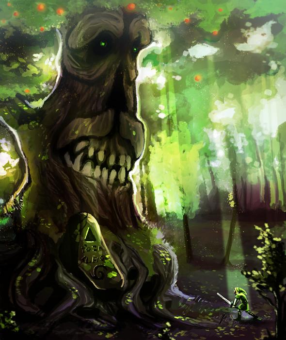 Primordial Deku Tree By Painted-bees On DeviantArt