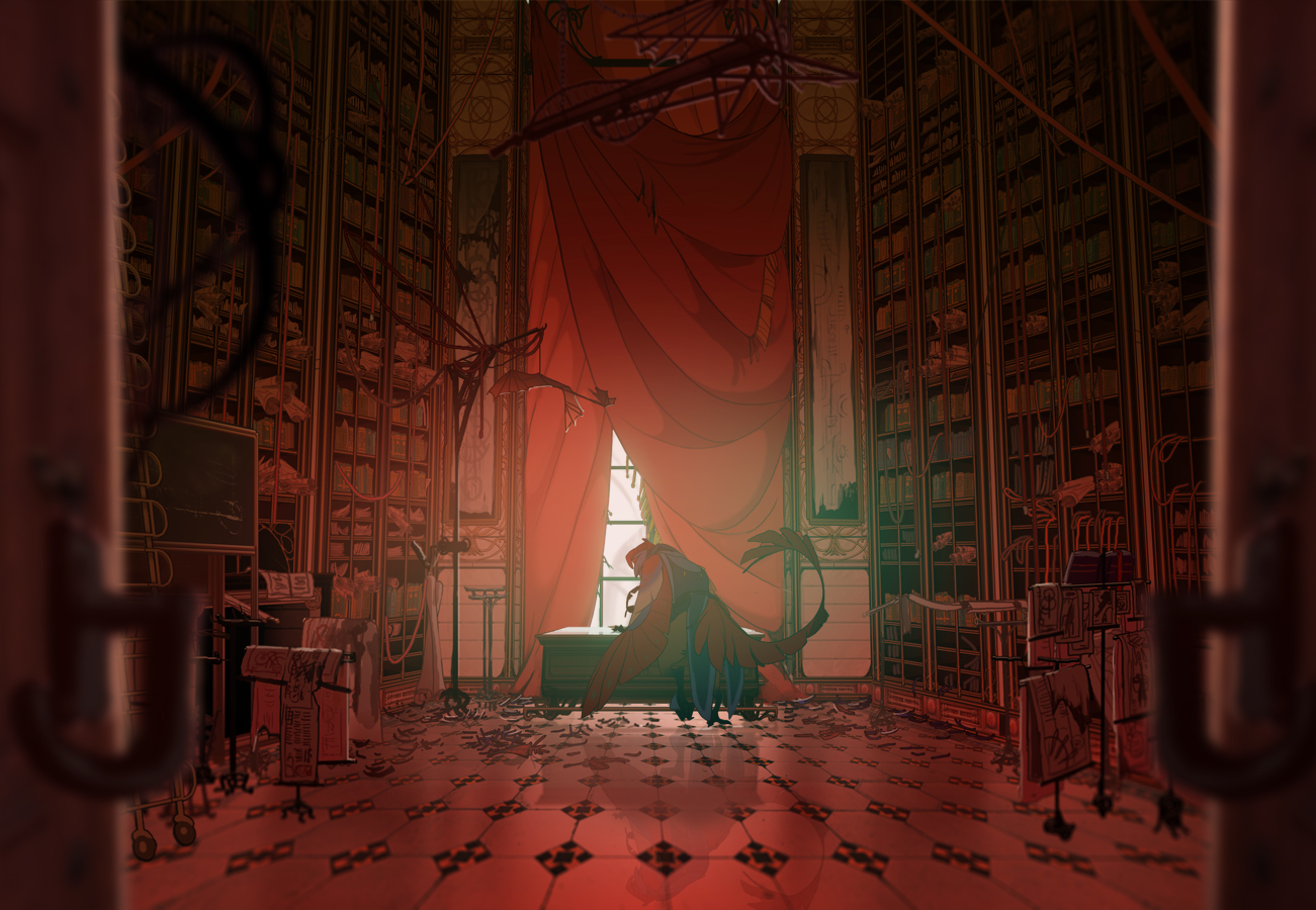 ABRAXAS: The Provost's Study by painted-bees