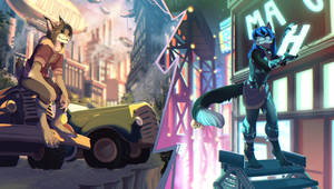 Illustration Commission for maho-gato!