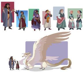 Woven: early chapter designs