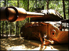 Abandoned US Tank