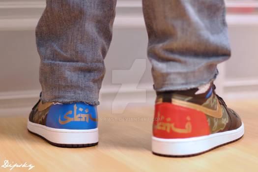 Air Jordan1 x SABOTAGE
