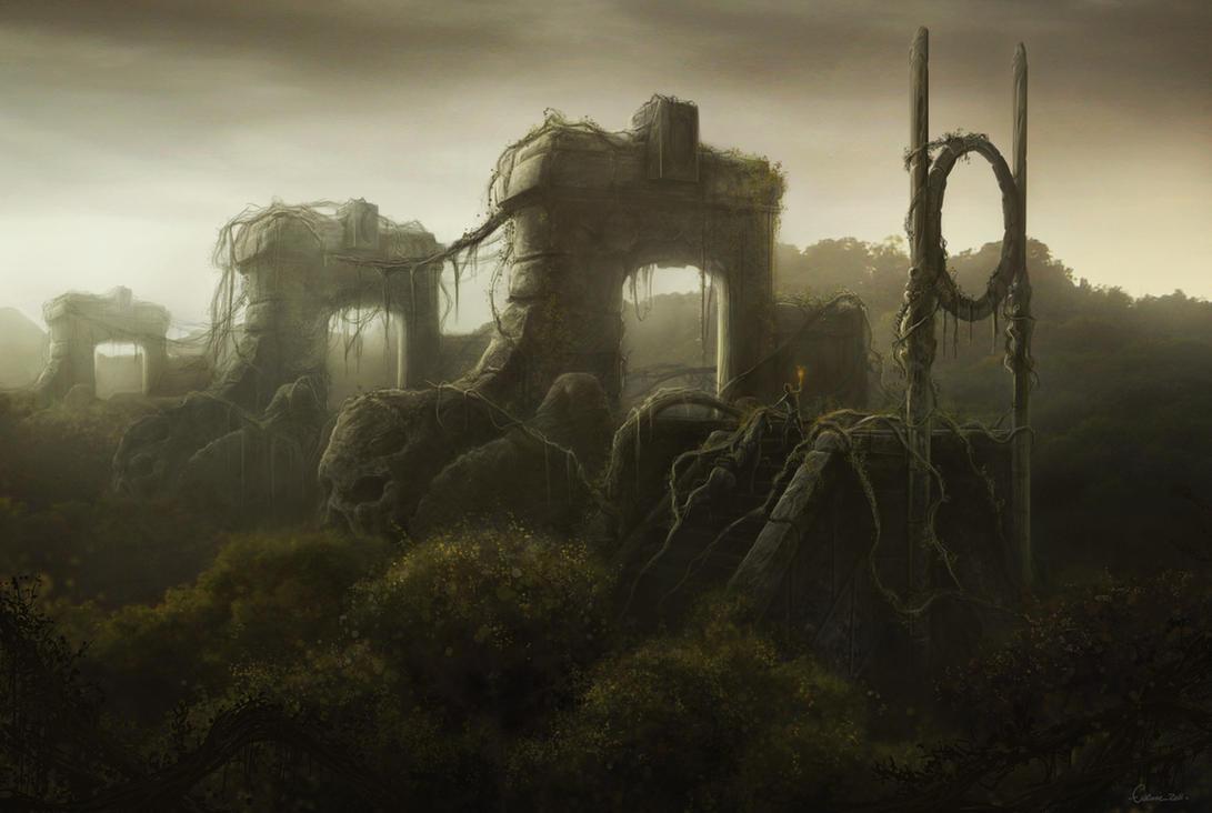 Les Trois Portes by Eacone01