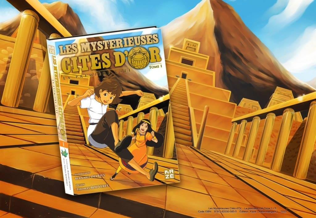 Manga The Mysterious Cities of Gold Volume1 by Eacone01