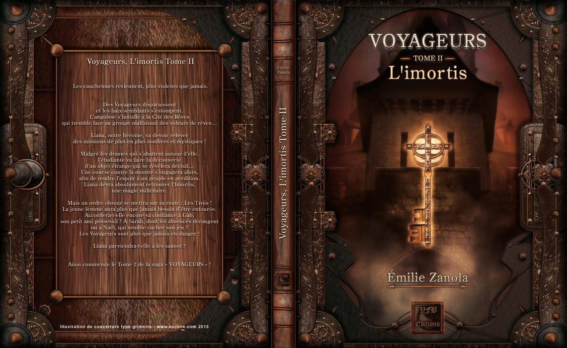 Cover for the Book and E.book Voyageurs Vol.2 by Eacone01