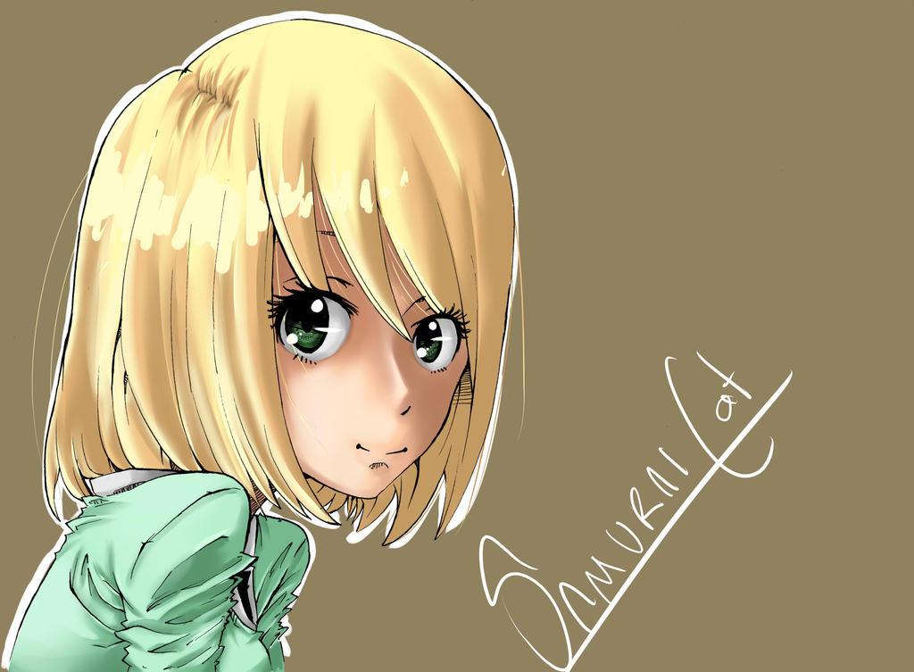 Elliiiiiiii !!! XD by samuraicat70