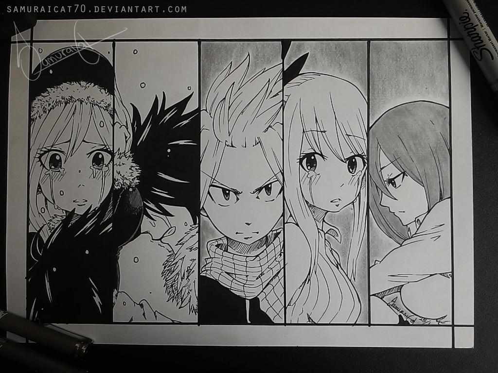 Fairy Tail ~ End of an Era by samuraicat70