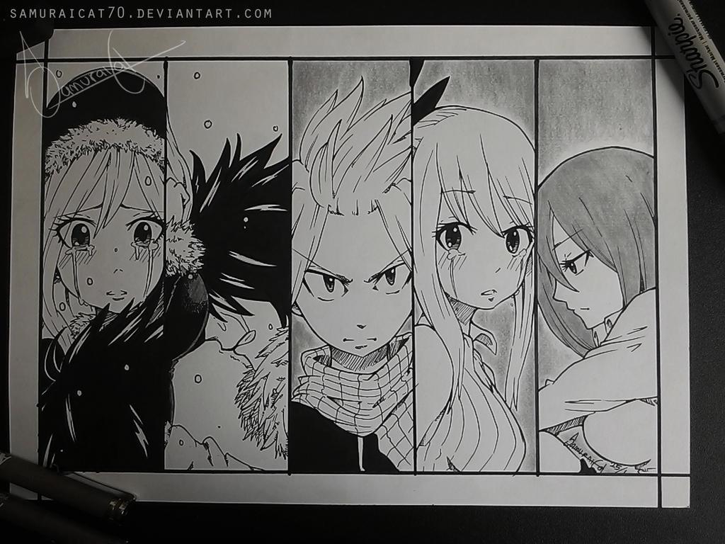 Fairy Tail ~ End of an Era by samuraicat70