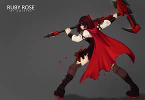 Crescent Rose by samuraicat70