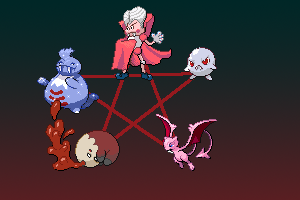 Order of the Vampire Pokemon by kamionero