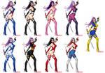 Psylocke - Alternate costumes