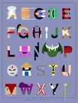 Mortal Kombat Alphabet