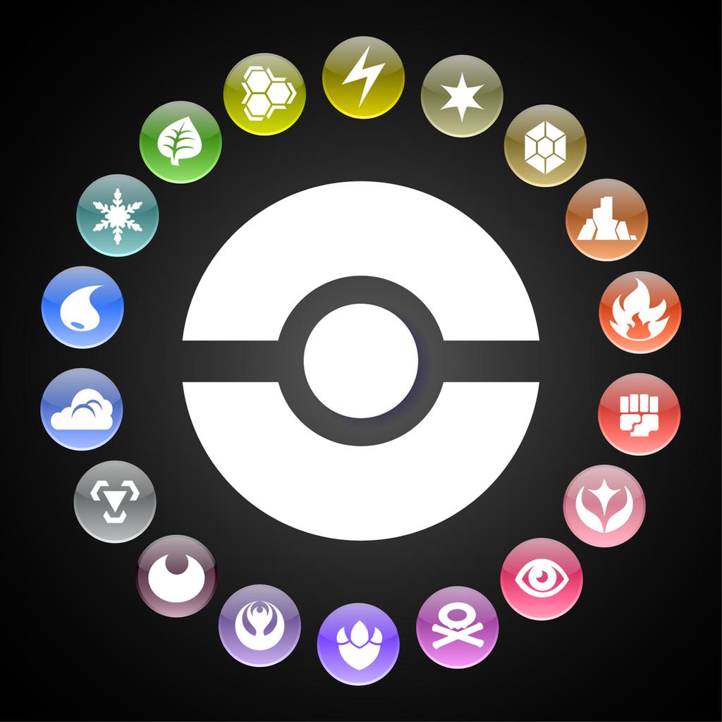 Ground Symbol Pokemon Pokemon Types W...
