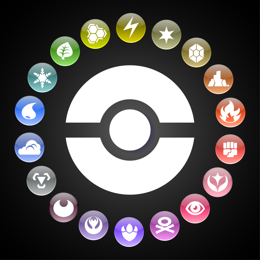 Pokemon types wheel by kamionero on deviantart pokemon types wheel by kamionero altavistaventures Images
