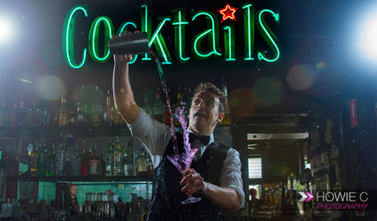 Clumsy Bartender