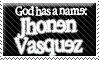 Jhonen Vasquez stamp by Scythe-Prayer
