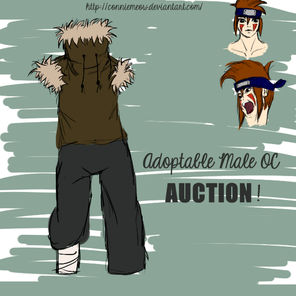 Naruto Adoptable Male OC! (AUCTION