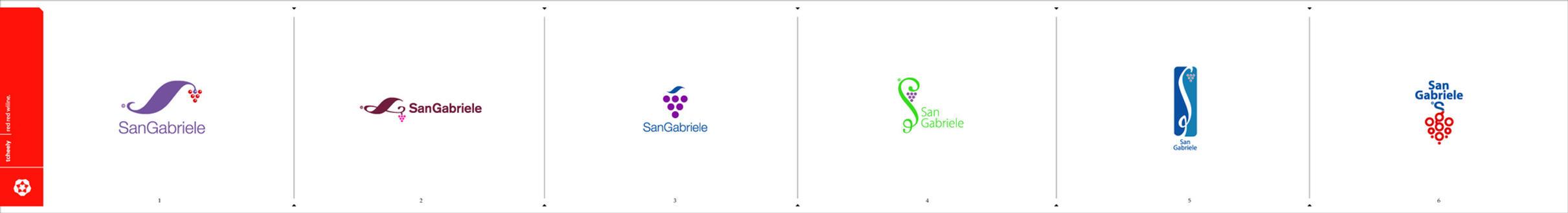 San Gabriele logo by Tcheely