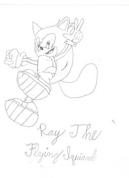 Ray the flying Squirrel
