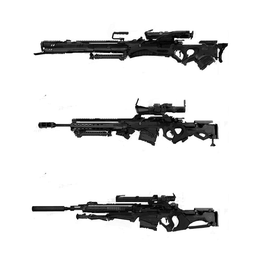 rifle concept by Haidak