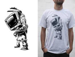 zombobox t-shirt by Haidak
